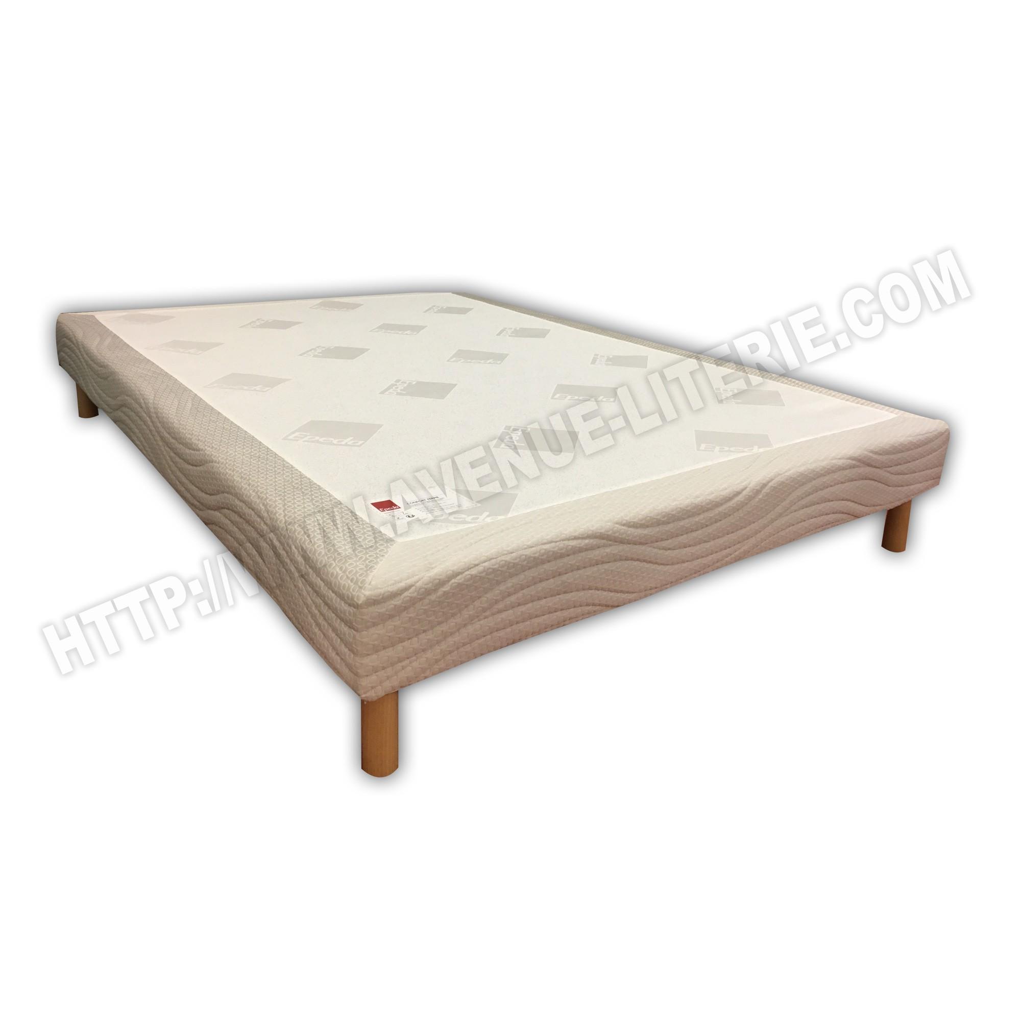 sommier 140x190 confort ferme s r nit epeda. Black Bedroom Furniture Sets. Home Design Ideas