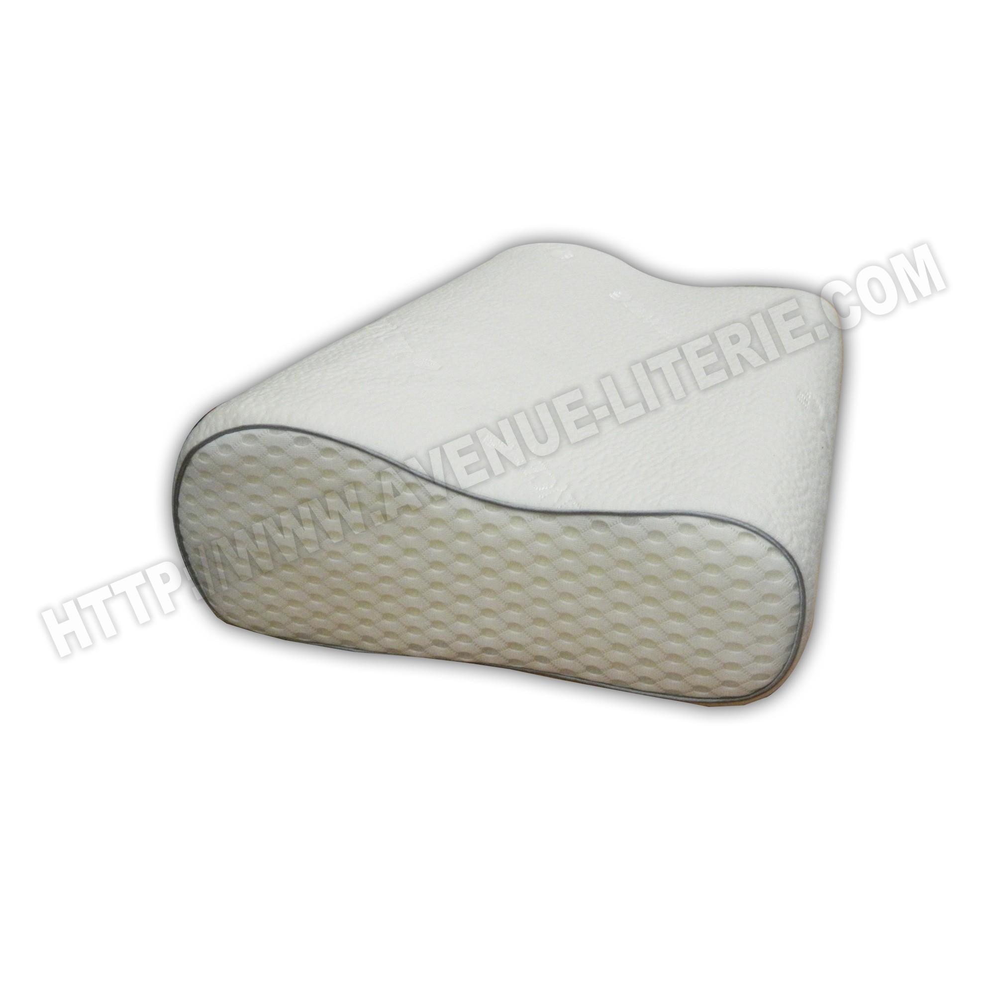 oreiller anatomique bultex 32x52. Black Bedroom Furniture Sets. Home Design Ideas