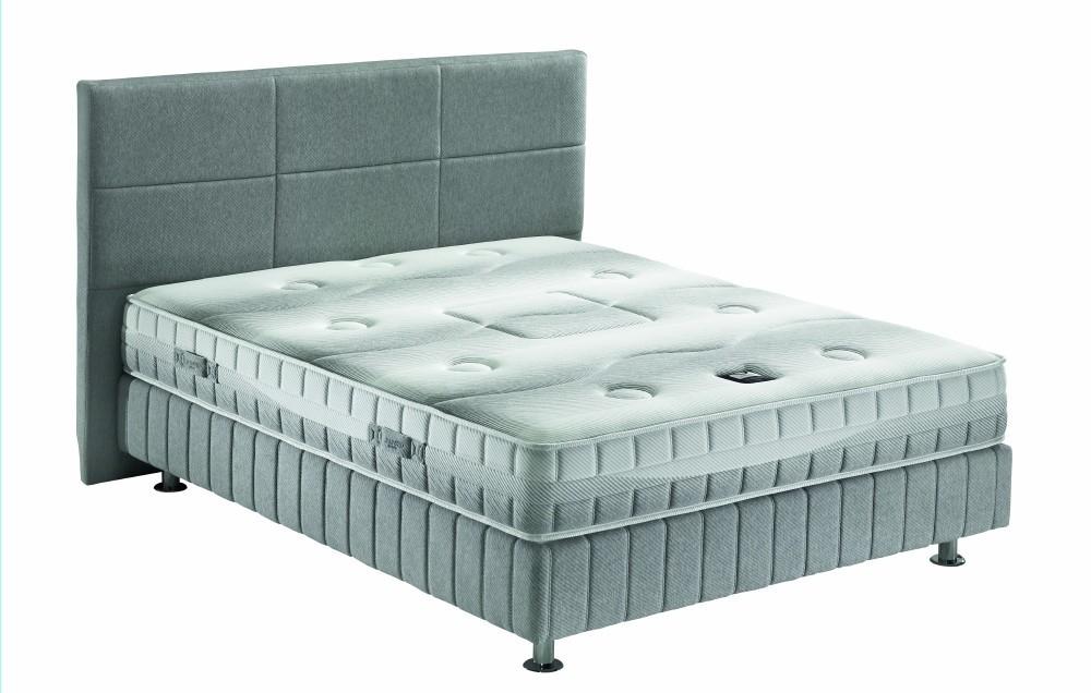 ensemble literie matelas sommier t te de lit atomic de. Black Bedroom Furniture Sets. Home Design Ideas
