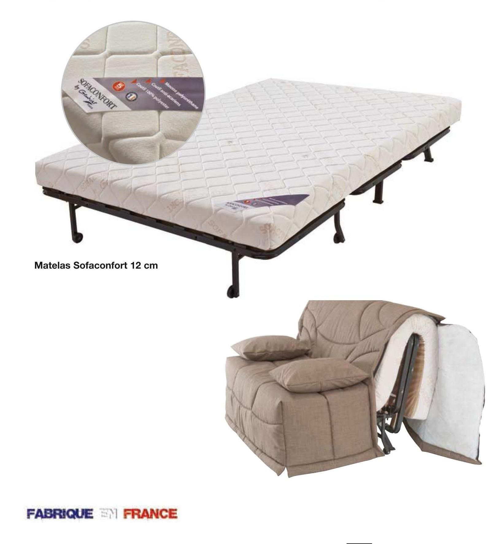 acheter banquette lit bz sleeping c cilia pas cher avenue literie. Black Bedroom Furniture Sets. Home Design Ideas
