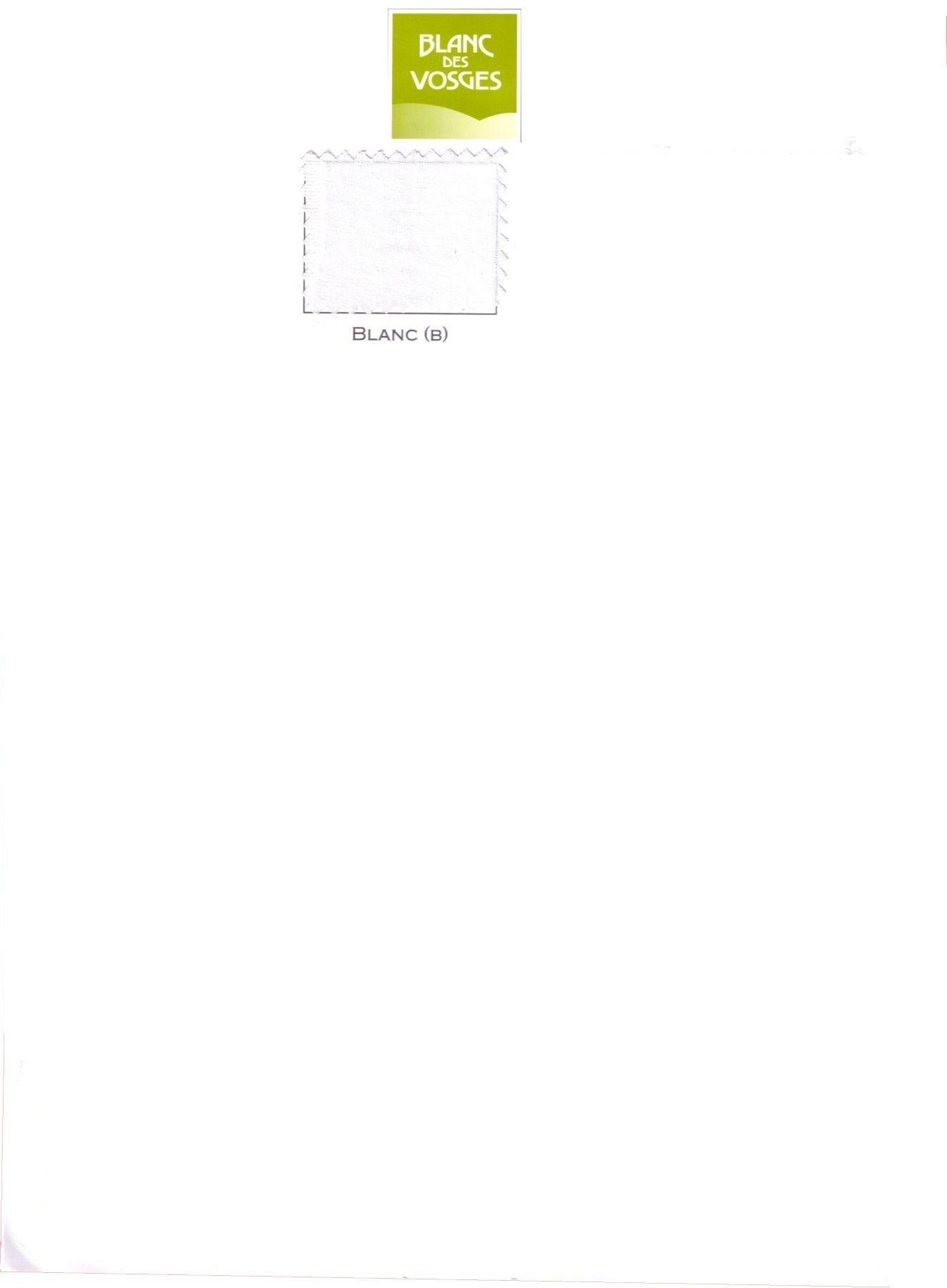 Achat drap housse lit relevable blanc des vosges 2x90x200 - Drap housse blanc des vosges ...
