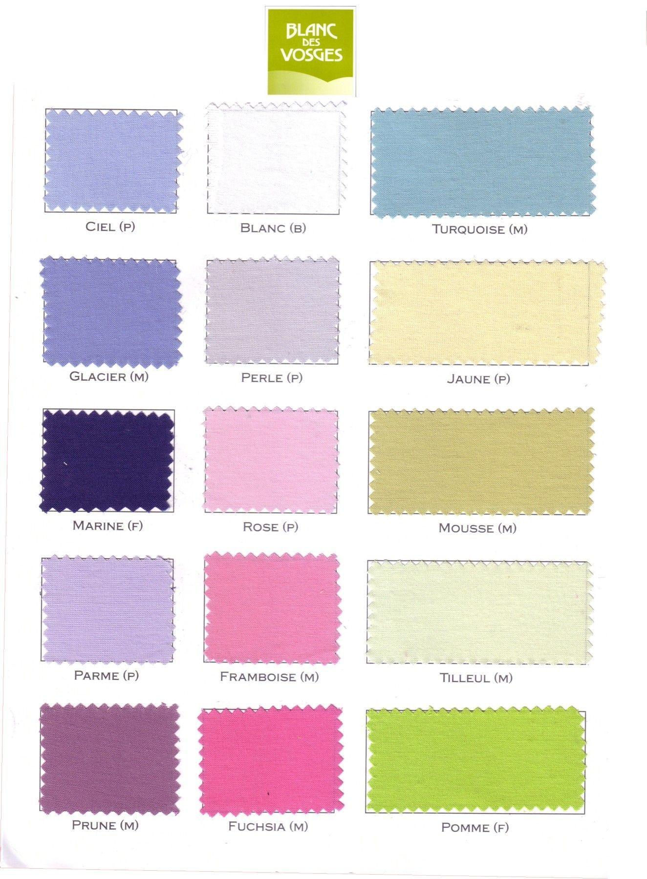 achat drap plat 100 coton blanc des vosges pas cher. Black Bedroom Furniture Sets. Home Design Ideas