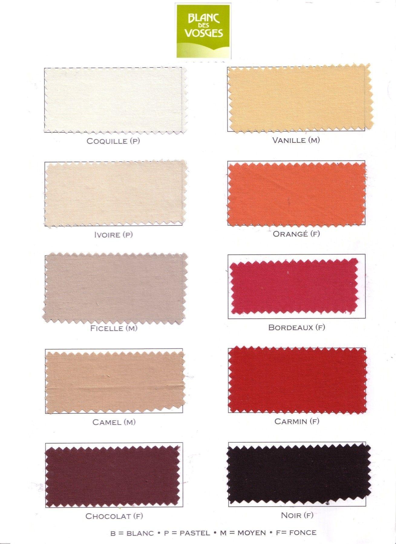 achat housse de couette 100 coton blanc des vosges pas cher avenue literie. Black Bedroom Furniture Sets. Home Design Ideas
