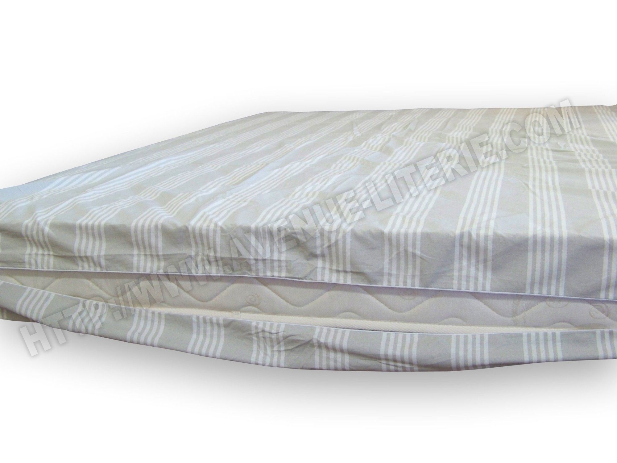 Matelas 30 cm gallery of ensemble merinos blissfully - Housse integrale matelas impermeable ...