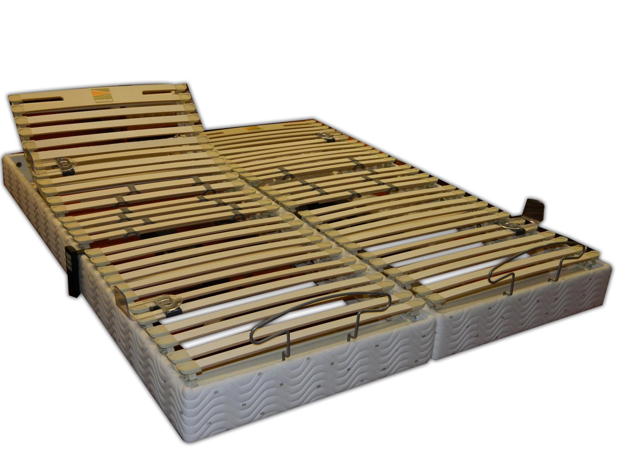 sommiers relevable electrique sommier 2x80x200 velda new proflex avenue literie. Black Bedroom Furniture Sets. Home Design Ideas