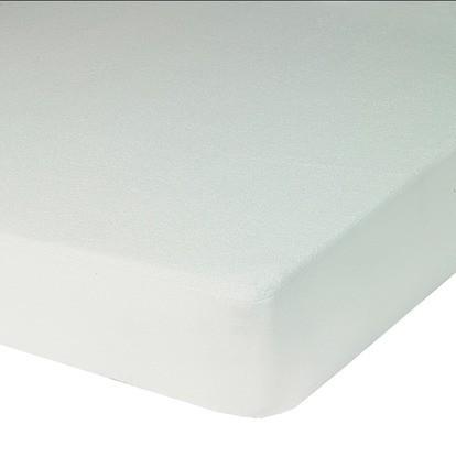 al se housse bouclette coton imperm able blanc des vosges 160 x 200. Black Bedroom Furniture Sets. Home Design Ideas