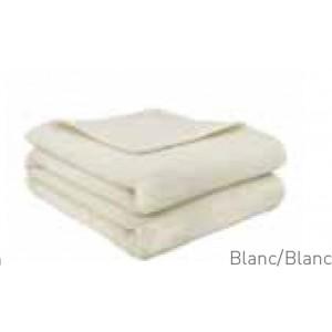 Couverture Provence Brun de Vian-Tiran Blanc / Blanc