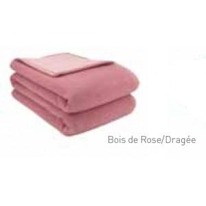 Couverture Provence Brun de Vian-Tiran Bois de rose / Rose