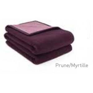 Couverture Provence Brun de Vian-Tiran Prune / Myrtille