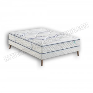 Ensemble Literie 140x190 Com_On Merinos : matelas Com_On + sommier de Merinos