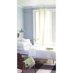 Housse de couette 200 x 200 Astor Blanc/Lime Designers Guild