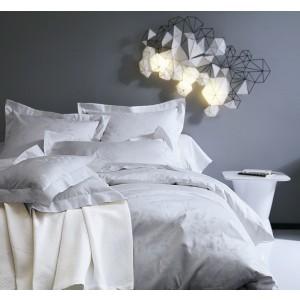 Drap plat 180 x 290 Canopee Perle Blanc des Vosges