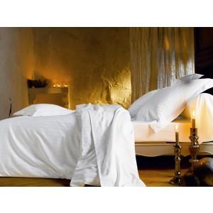 Housse de couette 140 x 200 Divine Blanc Blanc des Vosges