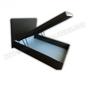 Lit coffre Optimo 300 140x190cm tête de lit Sued de Resistub (
