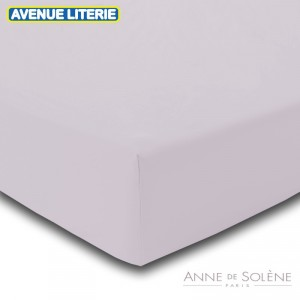 Drap Housse Uni Ecaille Anne de Solène 1