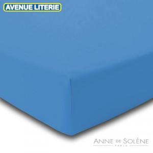 Drap Housse Uni Nattier Anne de Solène 1