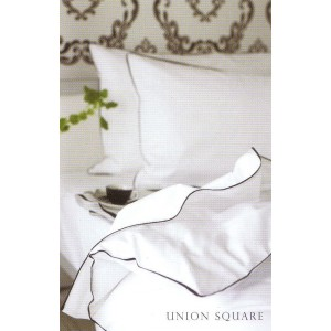 Parure Union square Blanc/Noir Designers Guild