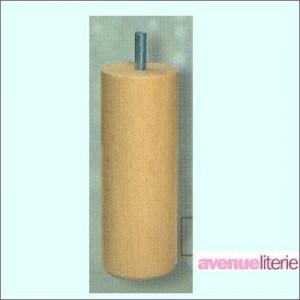 Pieds Cylindre Naturel 15 cm