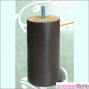 Pieds Cylindre Naturel 20 cm