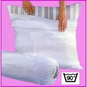 Protection Oreiller 100% Coton Blanc des Vosges 50 x 73 Blanc