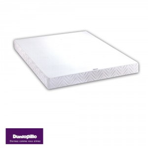 Sommier Tradiconfort Dunlopillo 2x80x190 (2 pers)