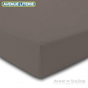 Drap Housse Uni Vison Anne de Solène