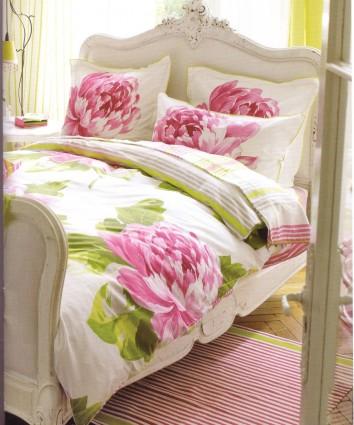Housse de couette 140 x 200 Charlottenberg Rose Designers Guild