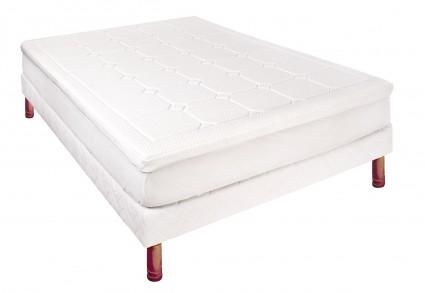 Surmatelas 140x190 Mémoire de forme Relaxation confort moelleux