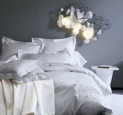 Drap plat 280 x 320 Canopee Perle Blanc des Vosges