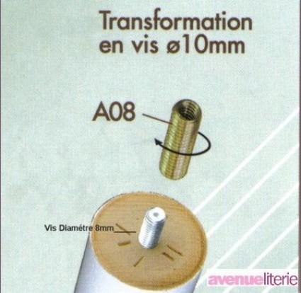 Embout filté 10 mm 1