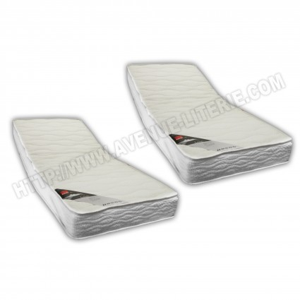 Matelas Relaxation Land Latex 2x80x200 cm Epeda
