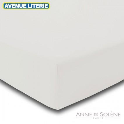 Drap Housse Uni Coco Percale Anne de Solène