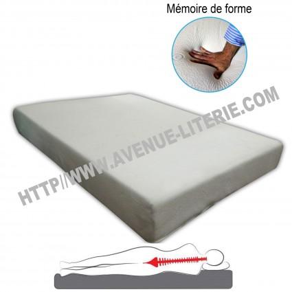Matelas 140x190 confort pur mémoire de forme