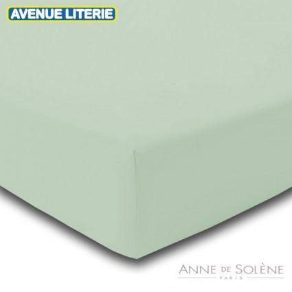 Drap Housse Uni Regain Percale Anne de Solène