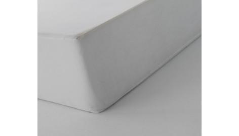 Drap Housse 100% Coton Blanc des Vosges 90 x 190